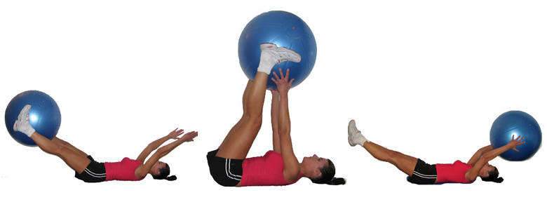 Image result for Stability Ball Leg Lift